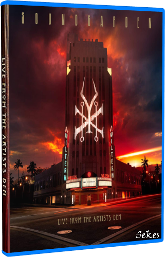 Soundgarden - Live from the Artists Den (2019, Blu-ray)