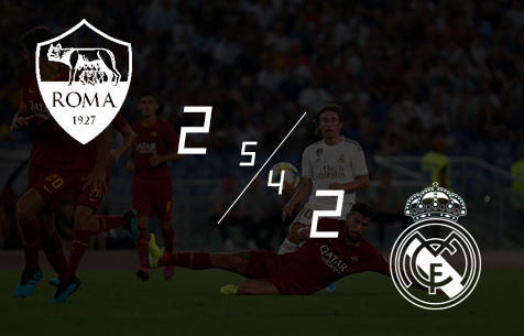 AS Roma - Real Madrid C.F. 2:2 (5:4 пен.)