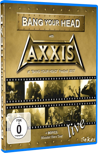 Axxis - Bang Your Head With Axxis (2019, Blu-ray)