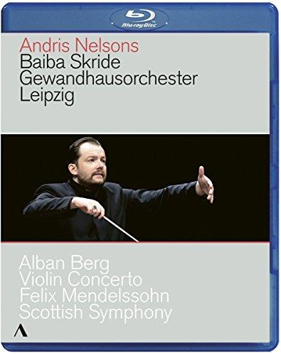 Andris Nelsons, Baiba Skride - Gewandhausorchester Leipzig (2018, Blu-ray)