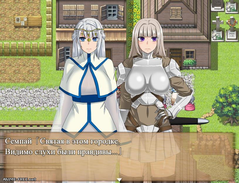 The Dead End ~The Maidens and the Cursed Labyrinth~ [2019] [Cen] [jRPG] [JAP,RUS] H-Game