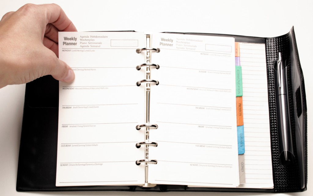 Как правильно выбрать ежедневник для деловых записей