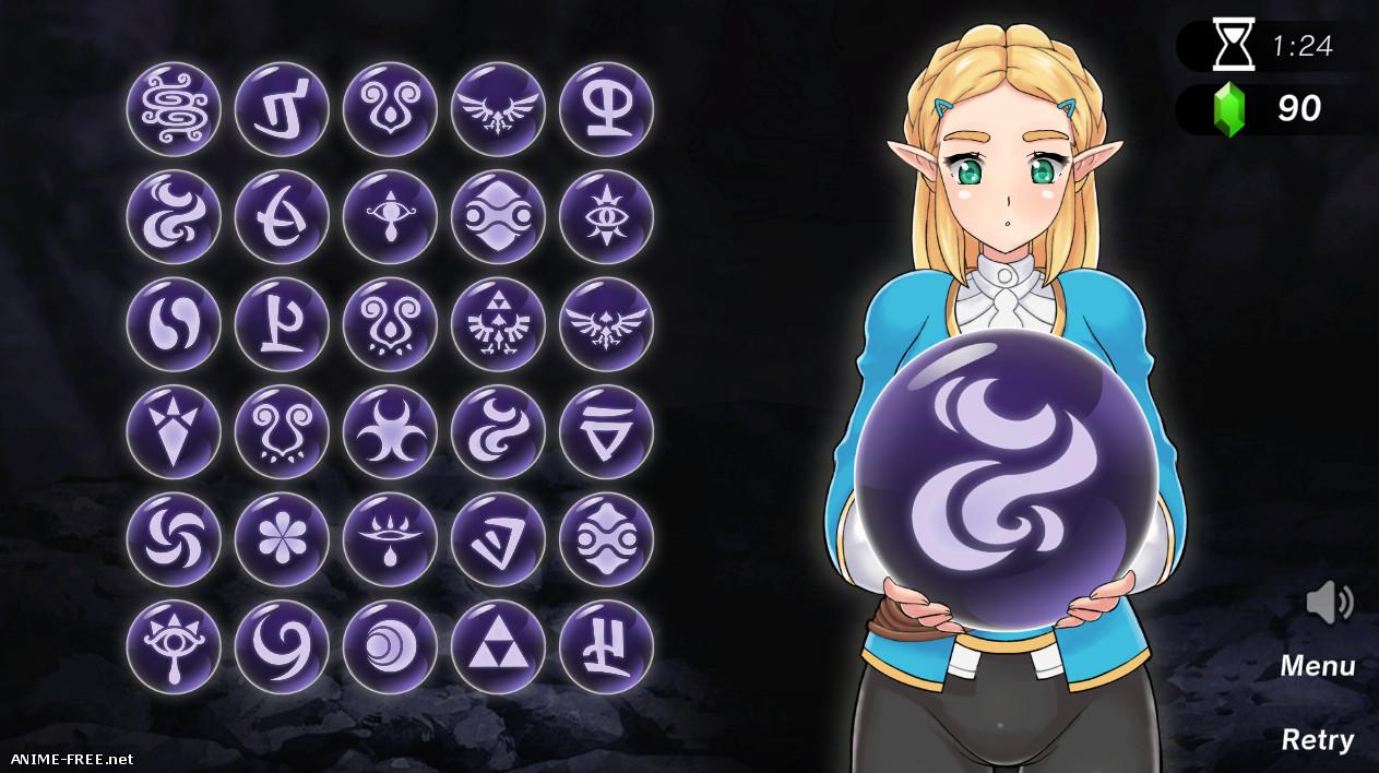 Zelda: Spirit Orbs [2019] [Uncen] [2DCG, Animation, Puzzle] [ENG] H-Game