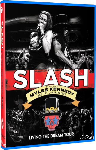 Slash - Living The Dream Tour (2019, Blu-ray)