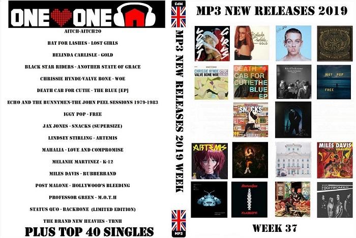 MP3 NEW ALBUM RELEASES WEEK 37 (2019)