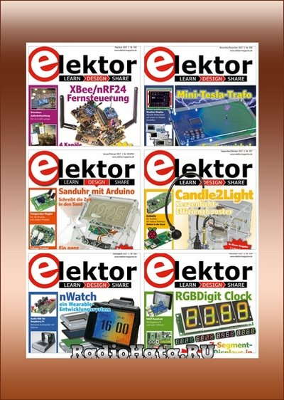 Elektor Electronics №1-12 (Januar-Dezember 2017) De