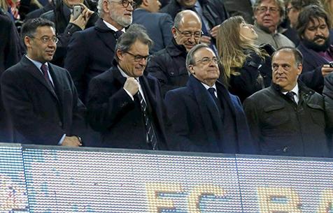 """Тебас: """"Эль Класико нельзя перенести на 18 декабря, ведь в это время будут проходить матчи Кубка Короля"""""""