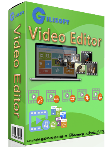 GiliSoft Video Editor 12.2.0 RePack (& Portable) by TryRooM (x86-x64) (2020) =Eng/Rus=