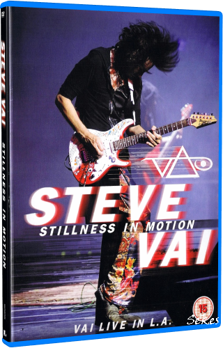 Steve Vai - Stillness in Motion Live in L.A (2019, Blu-ray)