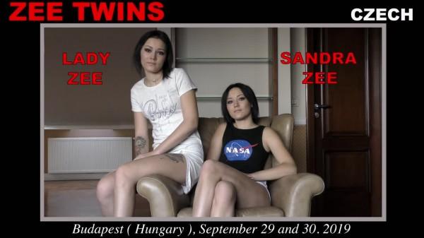 Постер:Zee Twins (Lady Zee and Sandra Zee) - Woodman Casting X 214 (2019) SiteRip