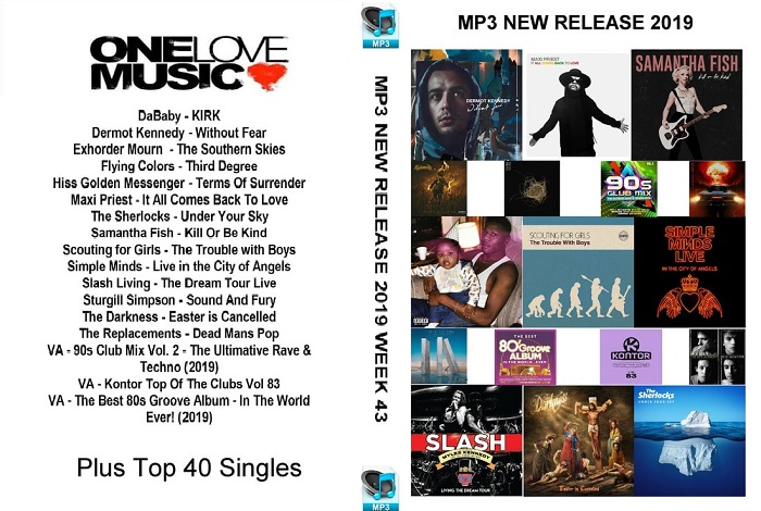 MP3 NEW RELEASES 2019 WEEK 43