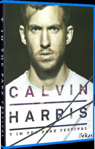 Calvin Harris - T In The Park Festival (2016, Blu-Ray)