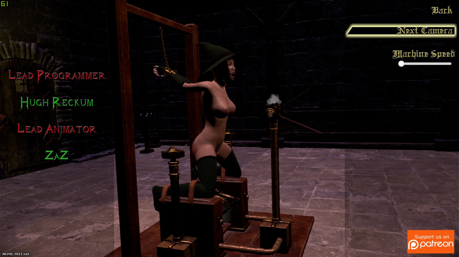 Sadistica's Revenge [2019] [Uncen] [3D-Animation, BDSM] [ENG] H-Game