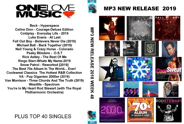 MP3 NEW RELEASES 2019 WEEK 48