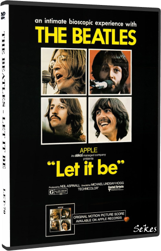 The Beatles - Let It Be 1970 (2011, DVD5)