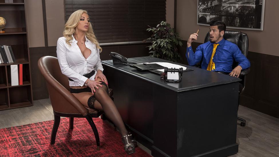 [BigTitsAtWork.com / Brazzers.com] Nicolette Shea - Boss For A Day (01.01.2020) [Big Tits, All Sex]