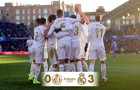 Getafe C.F. - Real Madrid C.F. 0:3