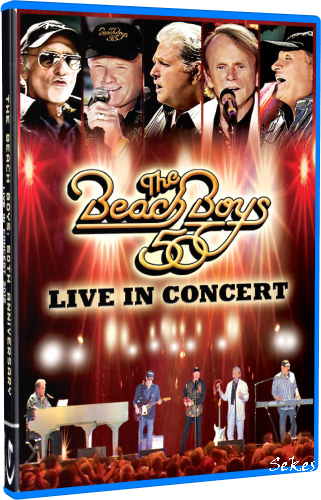 The Beach Boys - Live in Concert 50th Anniversary (2012, Blu-ray)