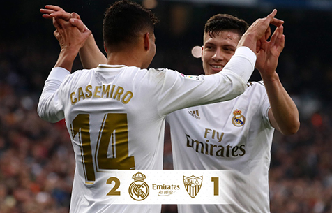Real Madrid C.F. - Sevilla FC 2:1