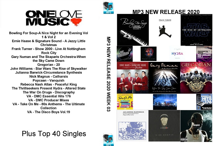 MP3 NEW RELEASES 2020 WEEK 03