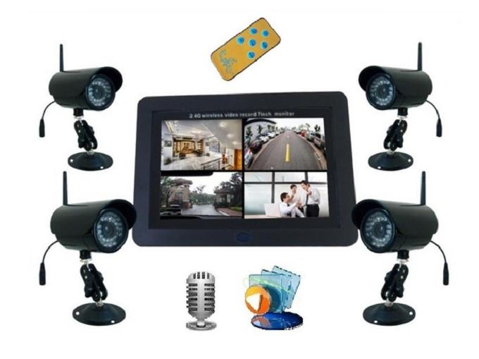Изображение с Wi-Fi камер может передаваться на планшет или смартфон