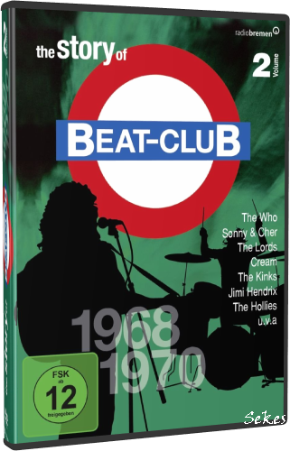 The Story Of Beat-Club Vol.2 1968-1970 (2009, 8xDVD9)
