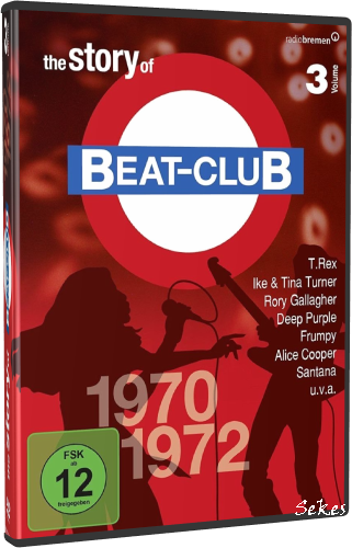 The Story Of Beat-Club Vol.3 1970-1972 (2009, 8xDVD9)
