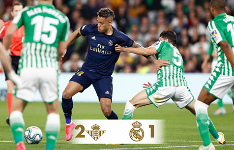 Real Betis Balompie - Real Madrid C.F. 2:1