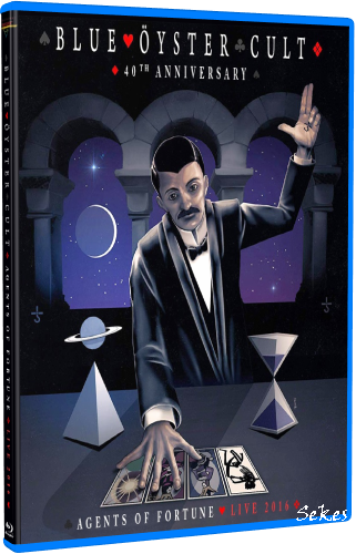 Blue Oyster Cult - 40th Anniversary Agents Of Fortune Live (2020, Blu-ray)