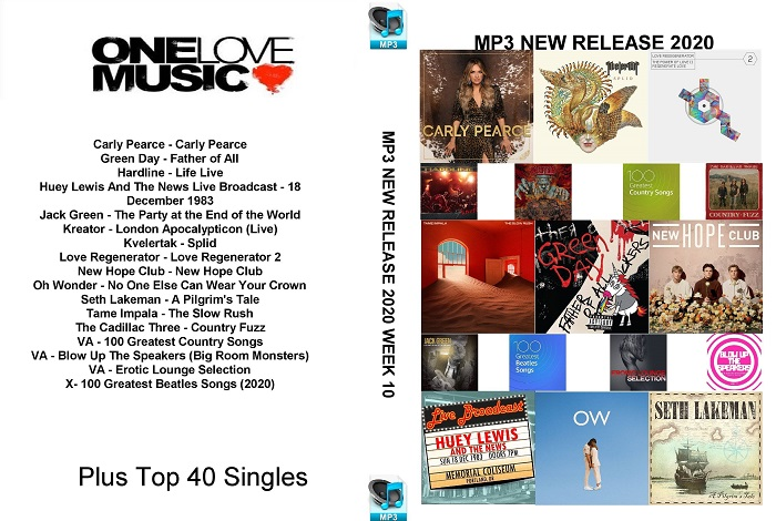 MP3 NEW RELEASES 2020 WEEK 10
