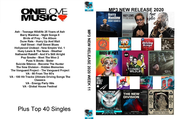 MP3 NEW RELEASES 2020 WEEK 11