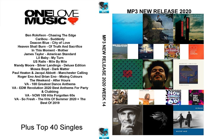 MP3 NEW RELEASES 2020 WEEK 14