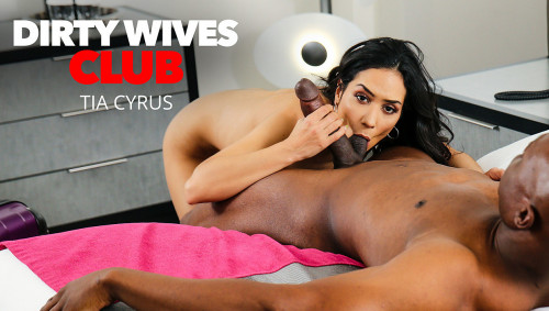 Tia Cyrus - Tia Cyrus has permission from husband to fuck whomever when she's away on business (2020) SiteRip |
