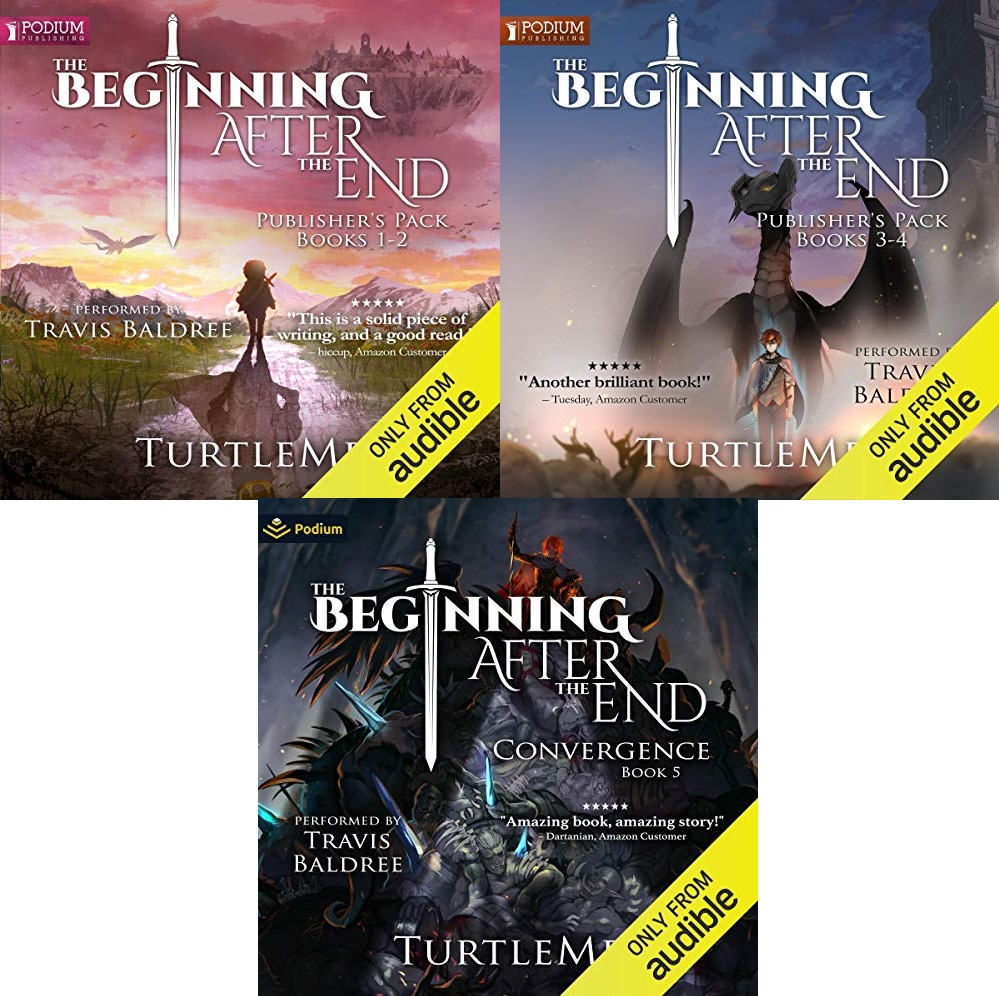 The Beginning After the End, Book 1-5 - TurtleMe