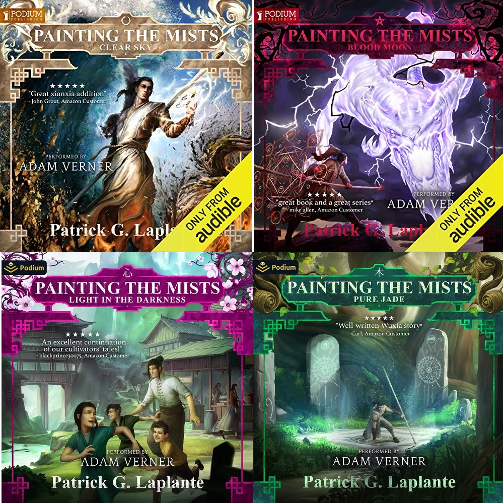 Painting the Mists Series Book 1-4 - Patrick G. Laplante
