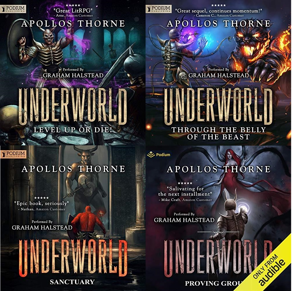 Underworld Series Book 1-4 - Apollos Thorne