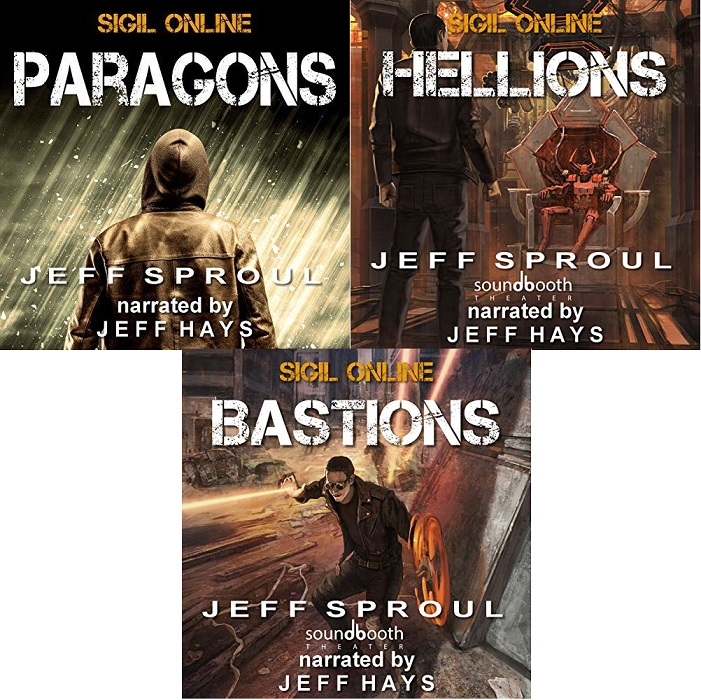 Sigil Online Series Books 1-3 - Jeff Sproul
