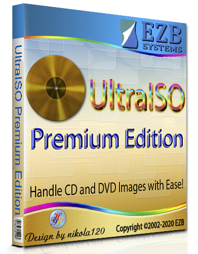 UltraISO Premium Edition 9.7.3.3618 RePack (& Portable) by KpoJIuK [2020,Multi/Ru]