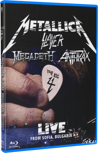 The Big 4 - Live From Sonisphere Sofia Bulgaria (2010, 2xBlu-ray)
