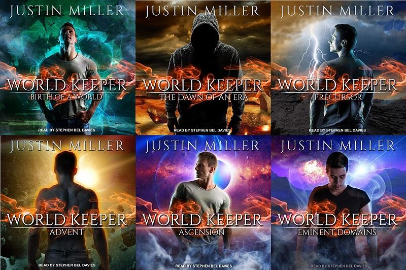 World Keeper Series Book 1-6 - Justin Miller