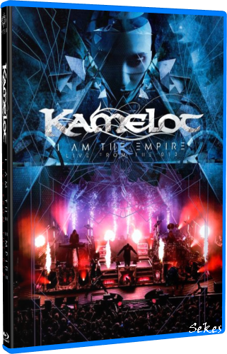 Kamelot - I Am the Empire Live from the 013 (2020, Blu-ray)
