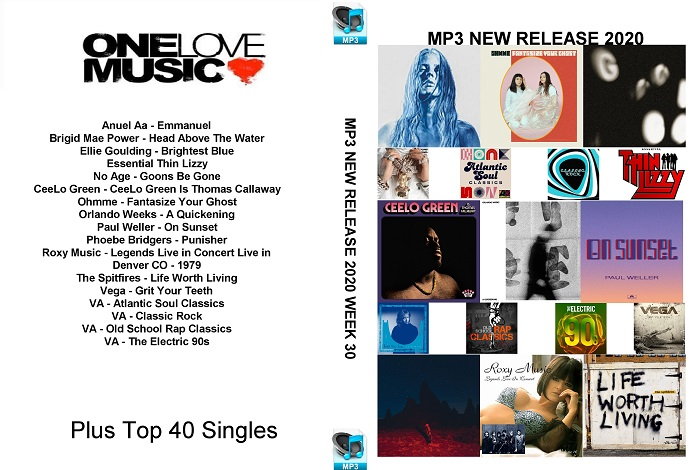 MP3 NEW RELEASES 2020 WEEK 30