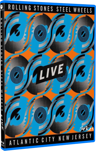 Rolling Stones - Steel Wheels Live From Atlantic City'89 (2020, Blu-ray)