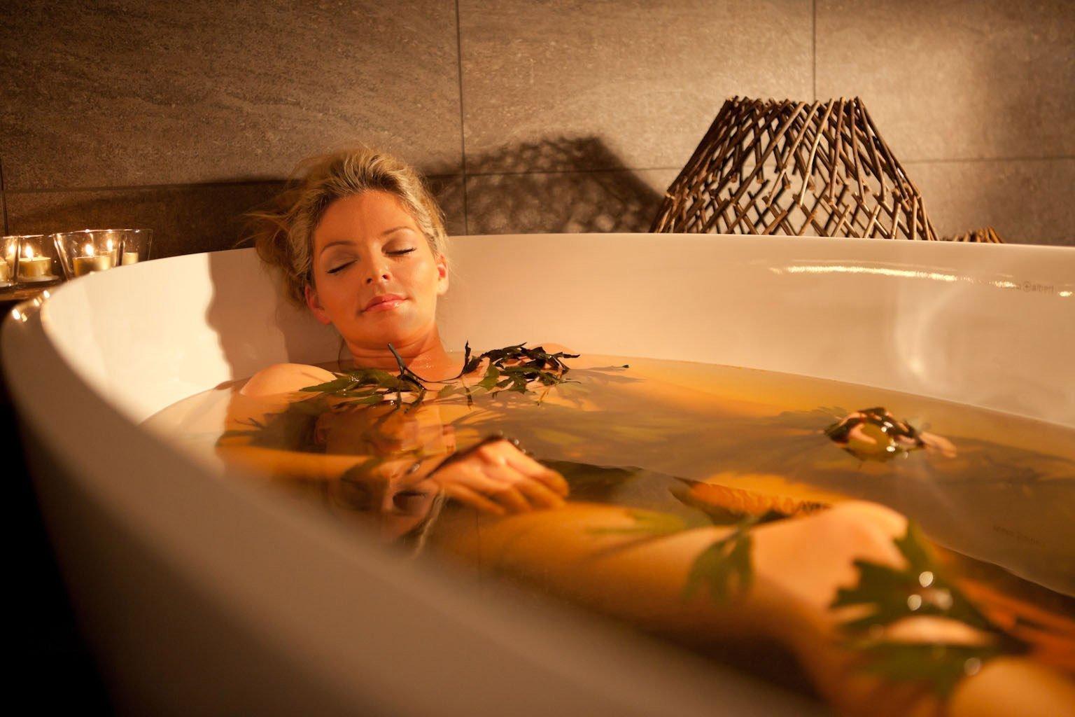 Скипидарные ванны: эффект и польза
