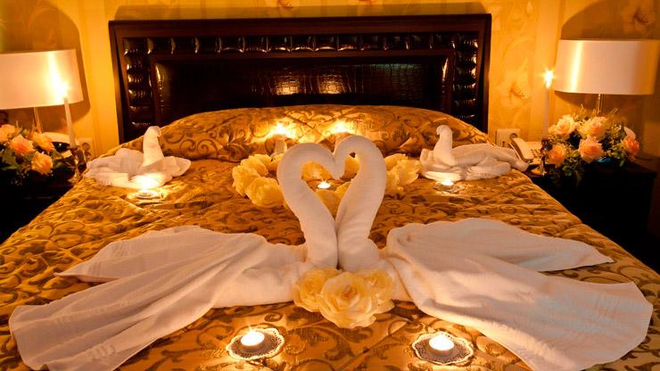 Красивый номер для молодоженов: выбрать отель в Харькове