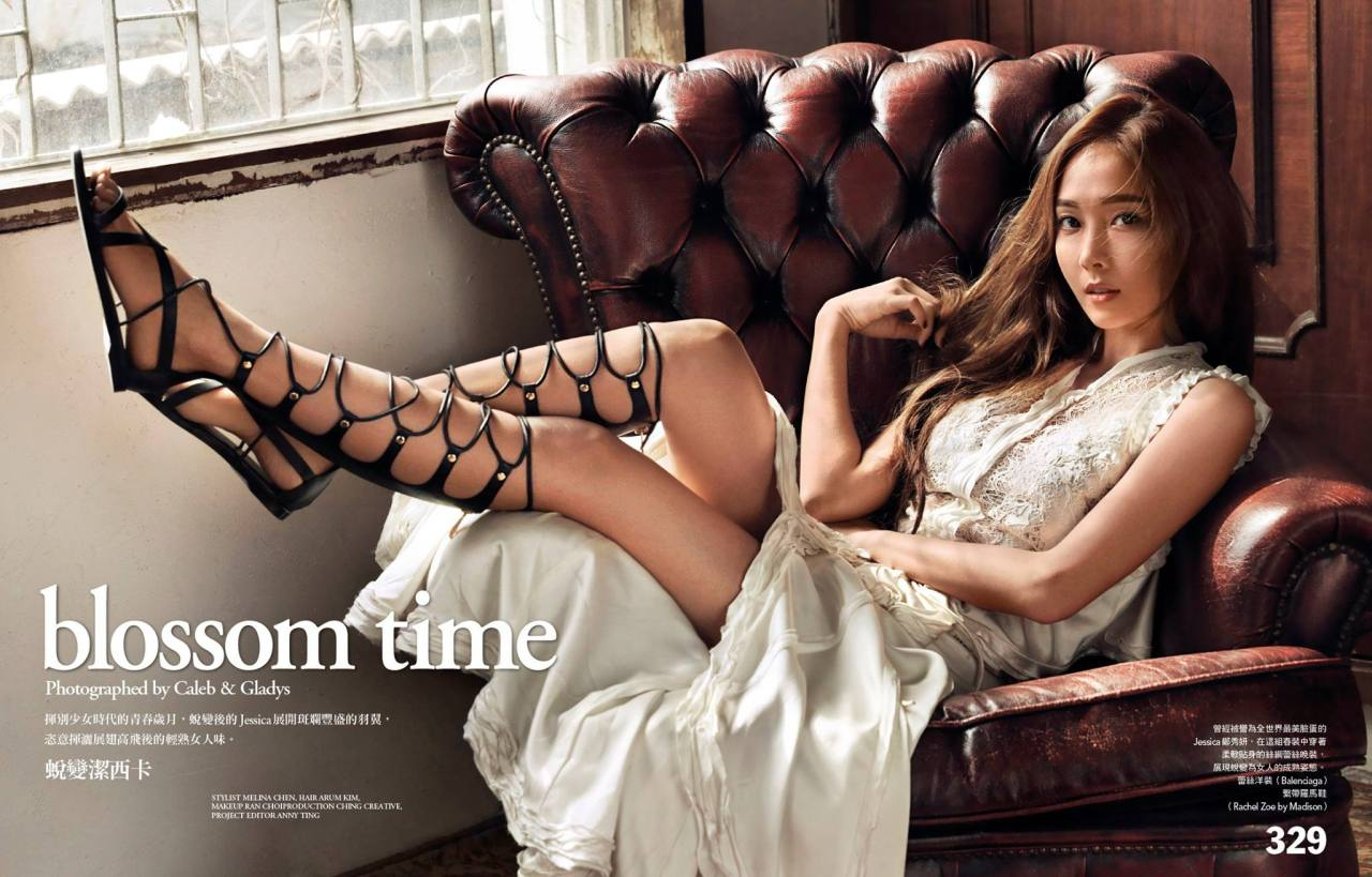 Jessica Jung, Girls' Generation, sexy legs, blossom time [PH201025002026]