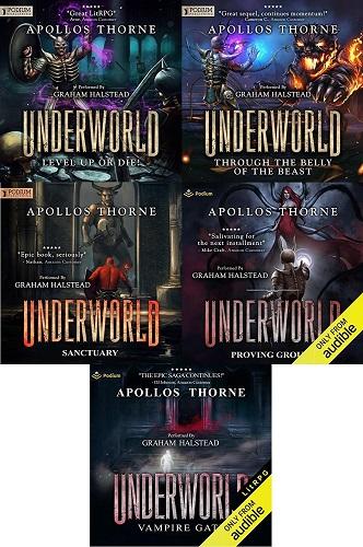 Underworld Series Book 1-5 - Apollos Thorne