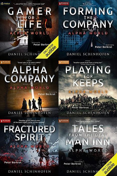 Alpha World Series Book 1-9 - Daniel Schinhofen