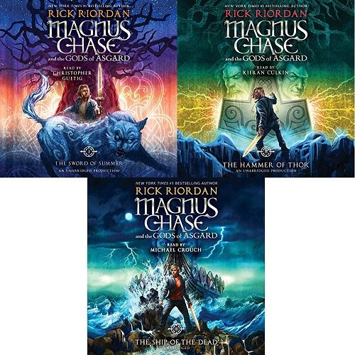 Magnus Chase and the Gods of Asgard Series Book 1-3 - Rick Riordan