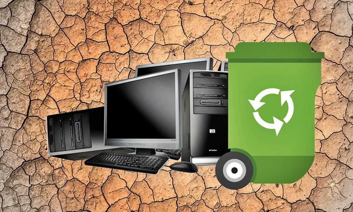 Компьютерную технику нужно утилизировать без вреда для окружающей среды